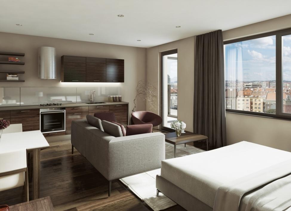 Holešovice apartment 113m 1