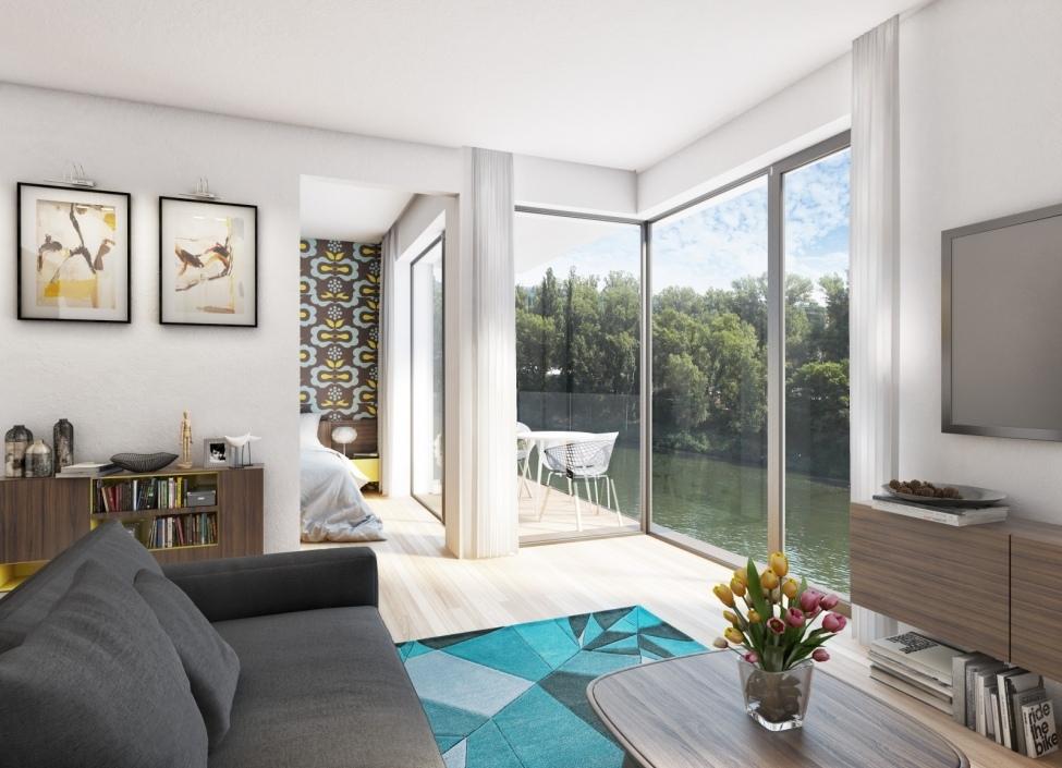 Luxusní byt Holešovice - 45m 1