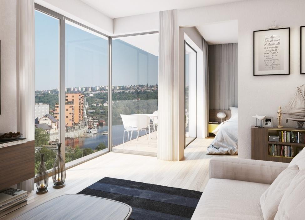 Luxusní byt na Praze 7 - 73m 1