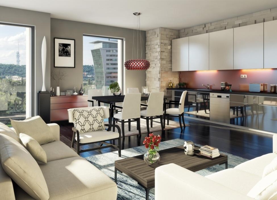 Luxusní byt Praha 7 - 73m 0
