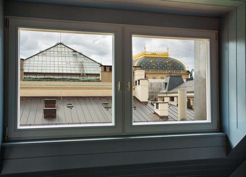 L'art de vivre---Byt s výhledem na Pražský hrad 1