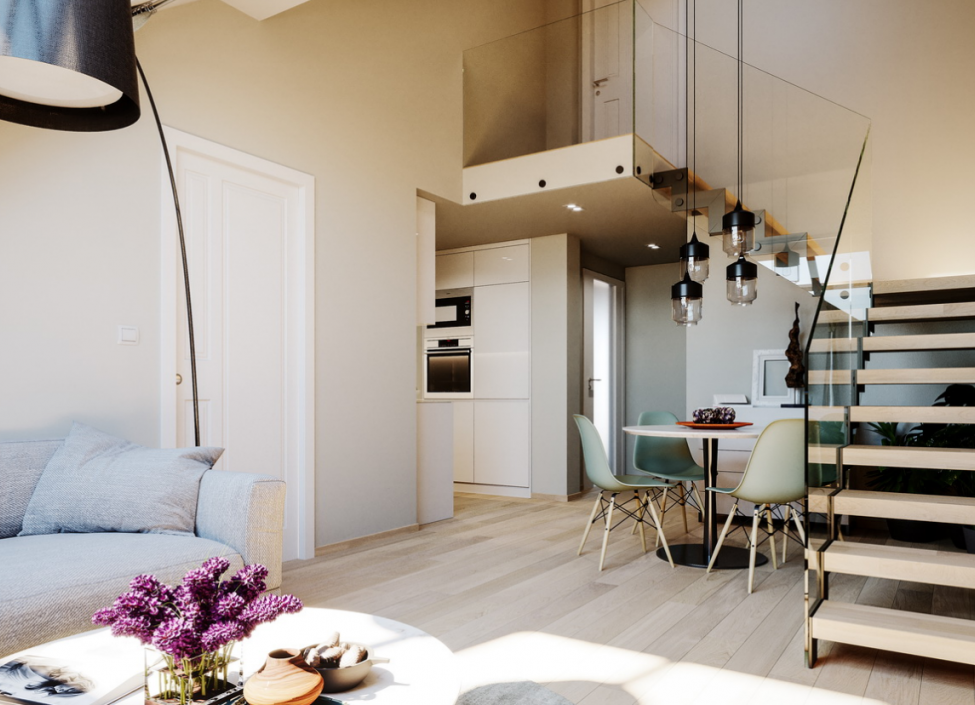 Luxury duplex Prague 1 - 96m 0