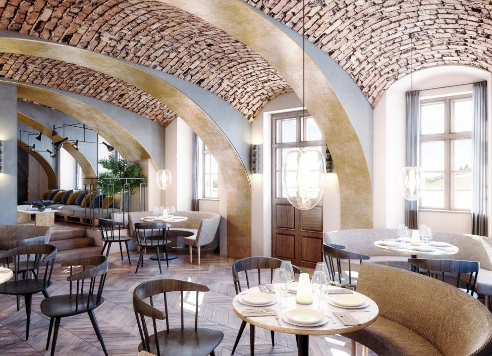 Luxury restaurant in Troja 0
