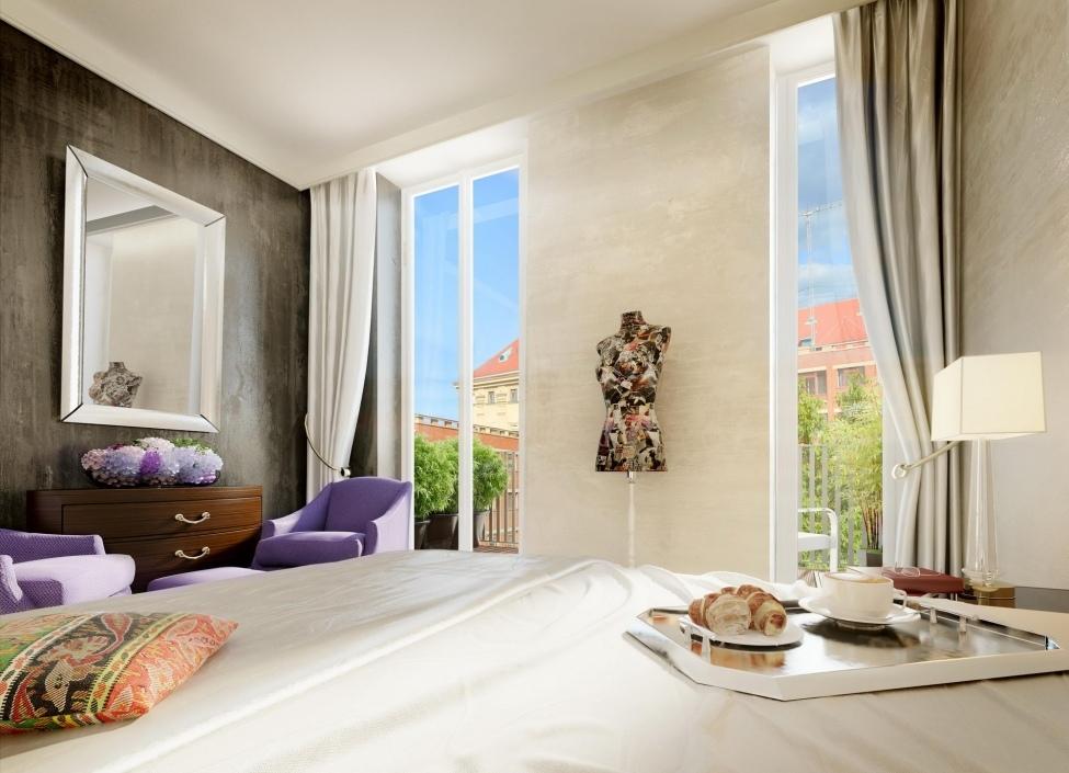 Luxusní byt na Vinohradech s terasou 69m 0