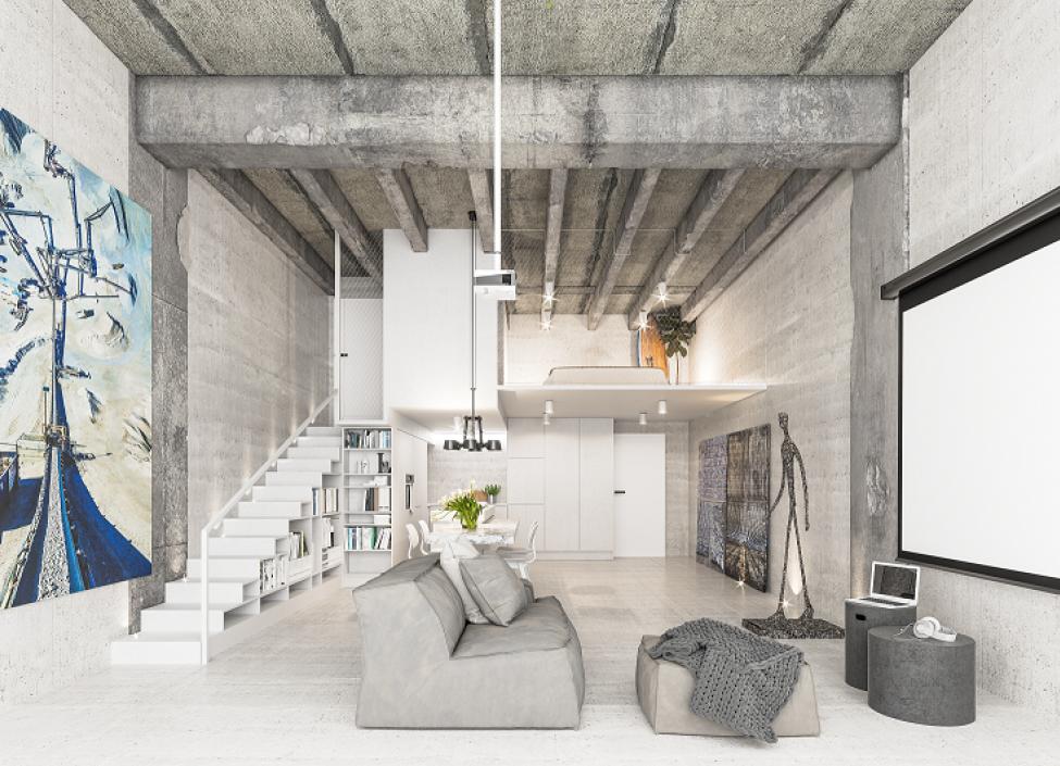 Luxusní loftový byt na prodej - Praha 4 - Modřany - 66m 0