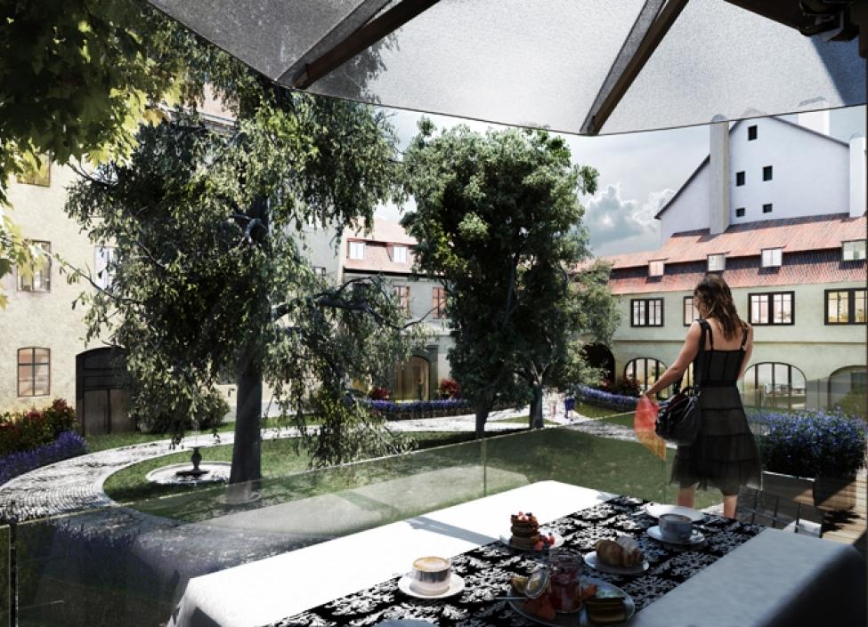 Luxusní byt Staré Město 223m 1