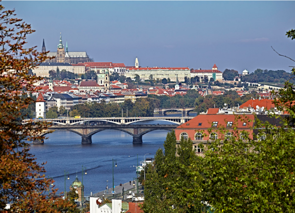 Luxury apartment for rent with a view of Vysehrad 105m 1