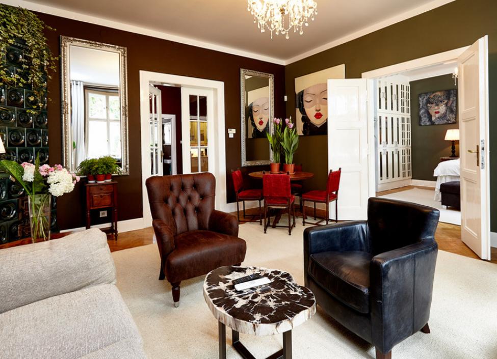 Luxusní byt k pronájmu s výhledem na Vyšehrad 105m 0