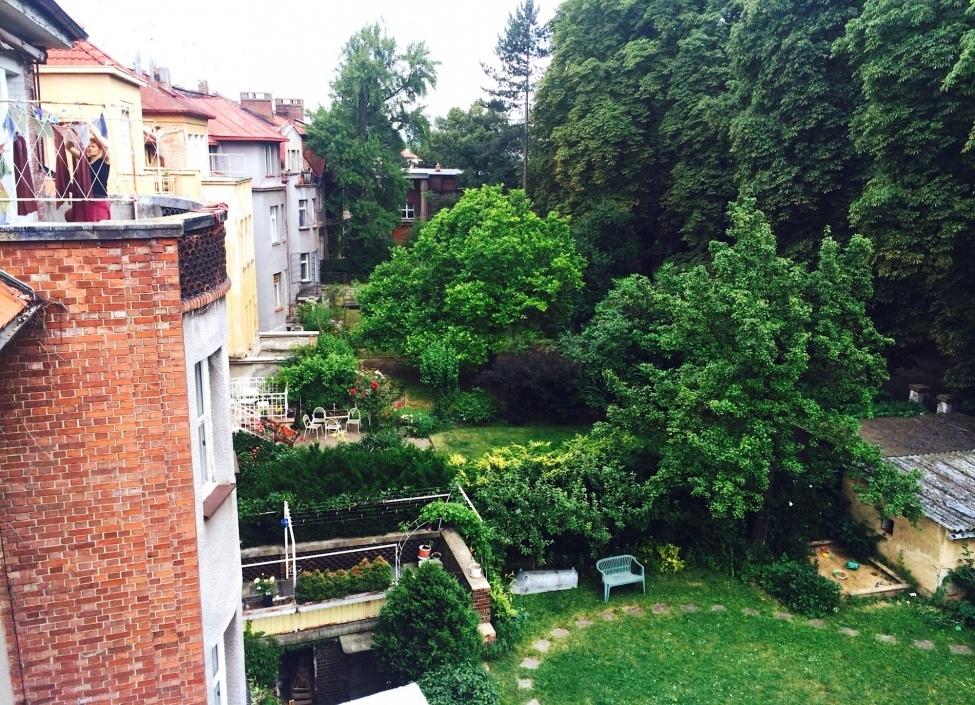 Byt e zahradou 0