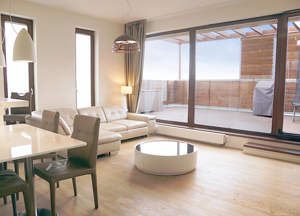 Luxusní penthouse na prodej Praha 9 - 146m 0
