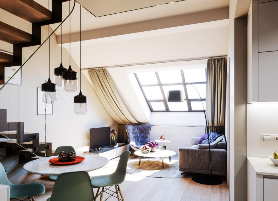 Luxury duplex Prague 1 - 96m 1
