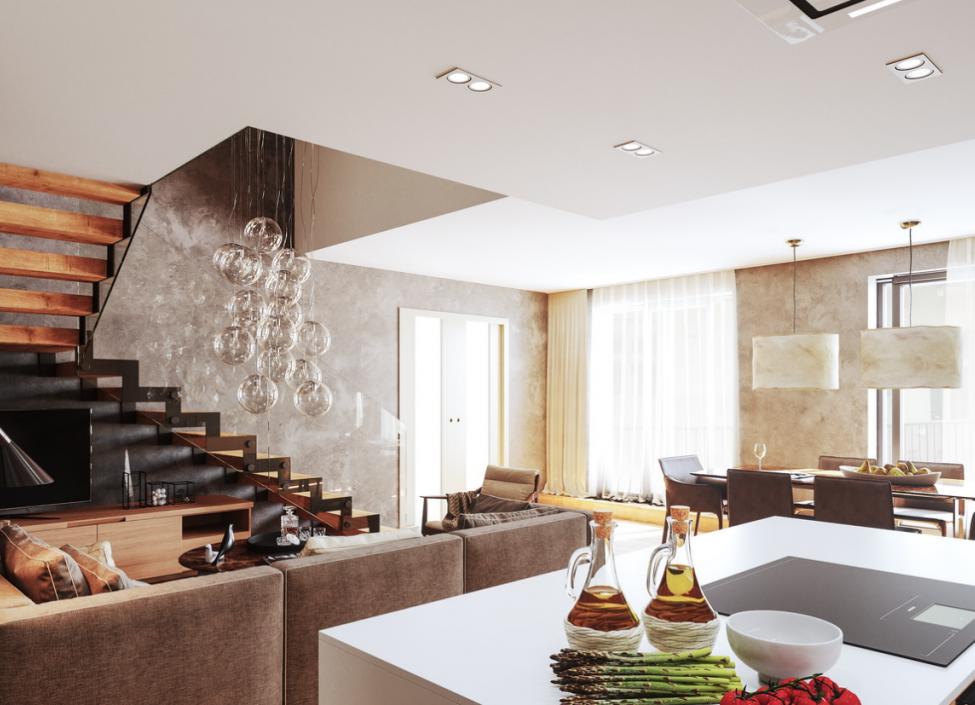 Luxusní mezonetový byt 147m 1