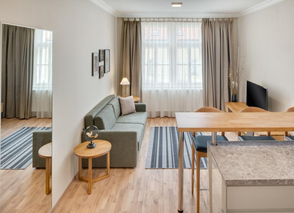 Luxusní byt na pronájem na Praze 7 - 51m 0