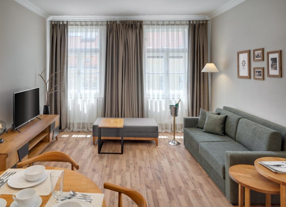 Luxusní byt na pronájem - Praha 7 - 46m 0