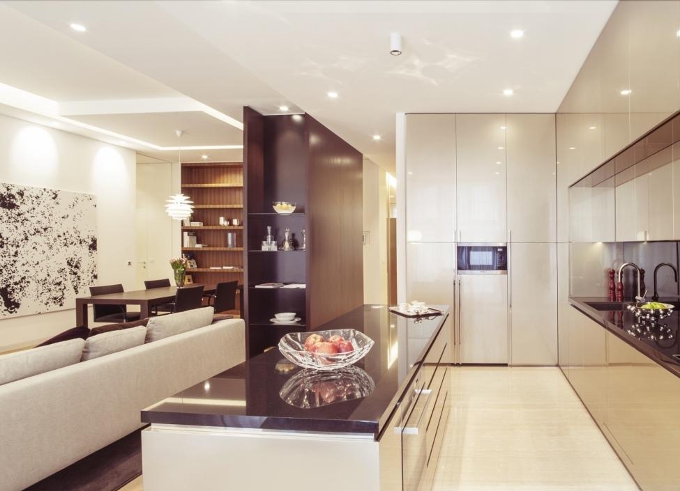 Luxusní byt v centru s terasou 72m 0