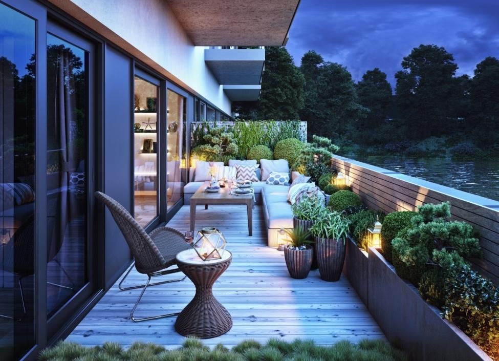Byt se zahradou Libeň 111m 0