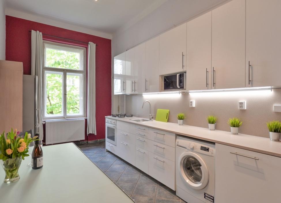 Luxusní byt k pronájmu Praha 2 - 107m 1