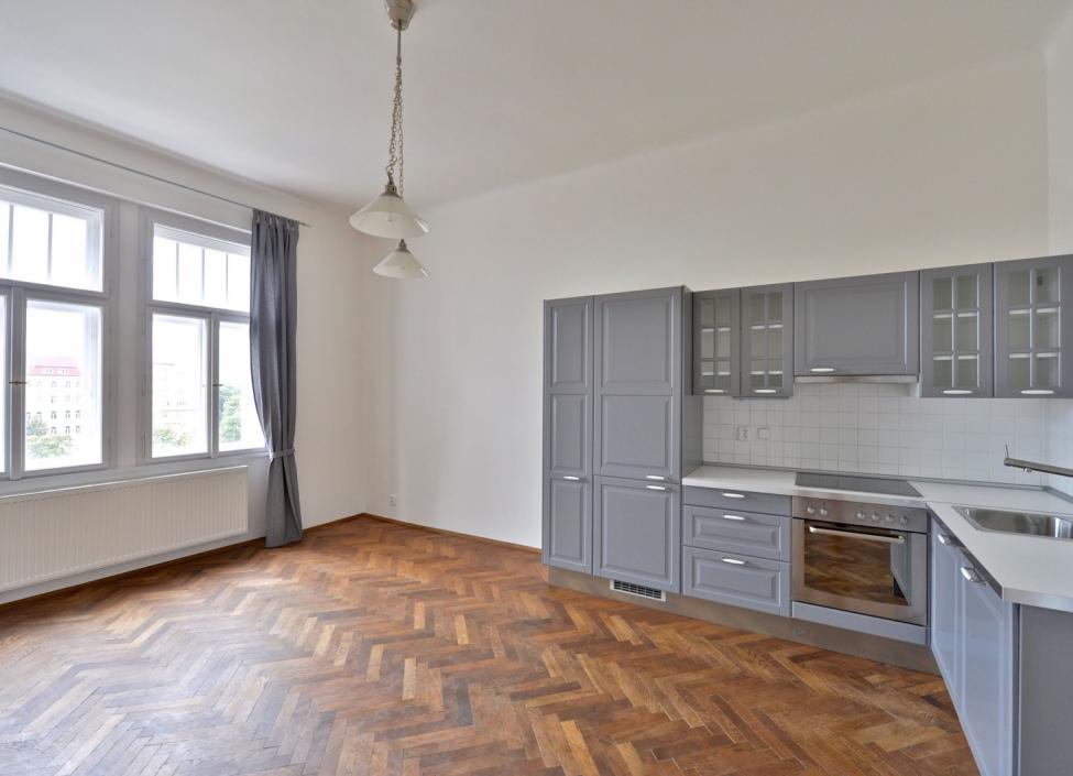 Luxusní byt na pronájem - Praha 3 - Vinohrady - 93 m2 0