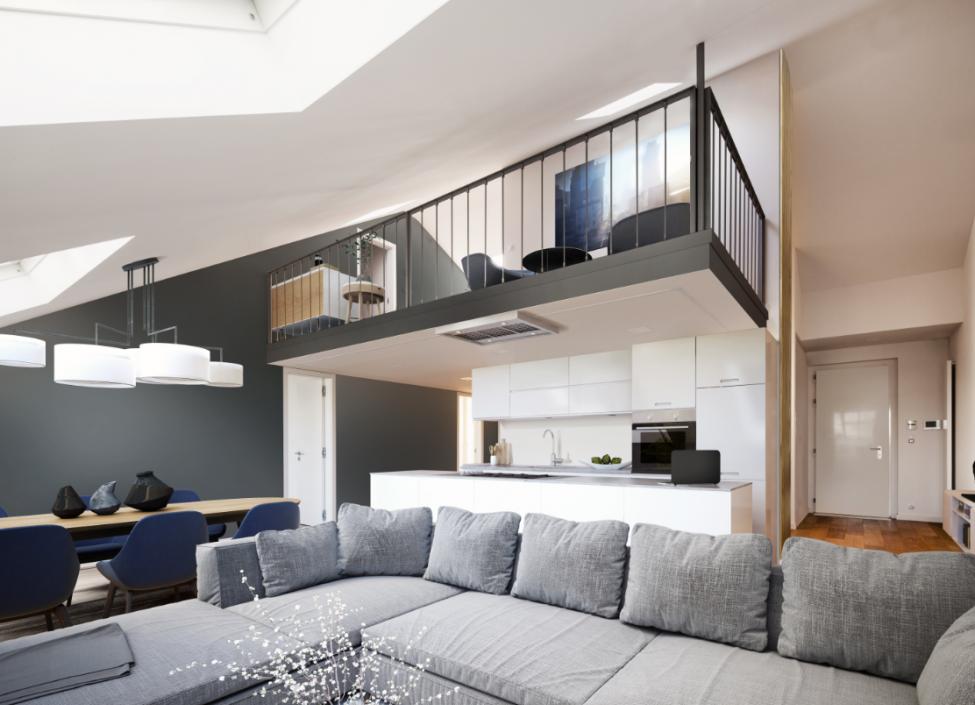 Luxusní byt Petrské náměstí - 214 m 0