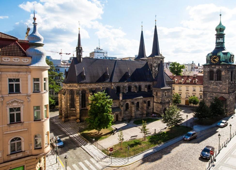 Luxusní činžovní dům na pronájem - Praha 1 - Nové Město - 1126m 0