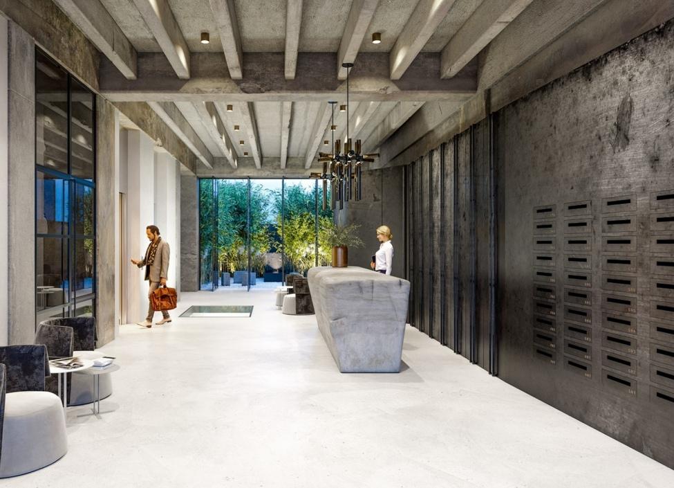 Luxusní loftový byt Praha 4 - 86m 1