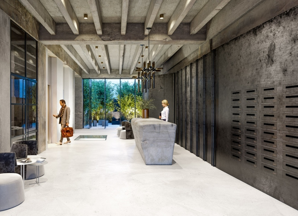 Luxusní loftový byt 57m na Praze 4 0