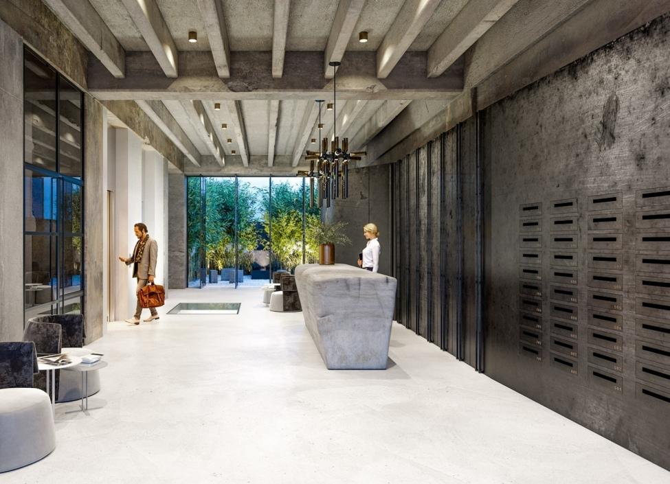 Luxusní loftový byt na Praze 4 - 58m 0