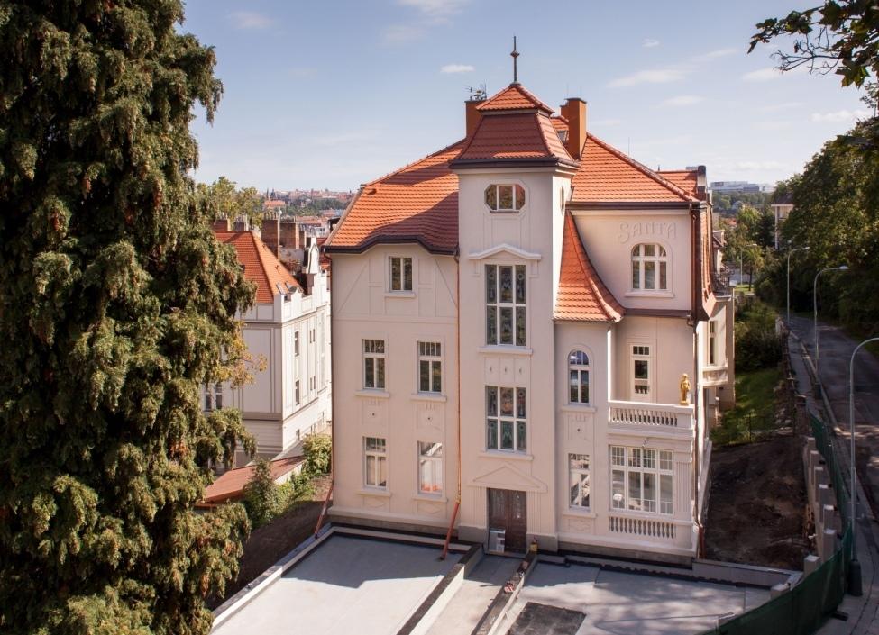 Luxusní vila na pronájem na Praze 5 - 996m 0
