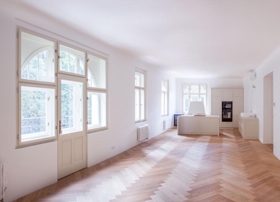 Luxusní byt se zahradou Praha 5 - 100m 0