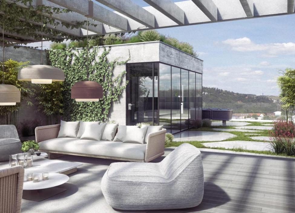 Luxusní loftový byt na Praze 4 - 123m 0