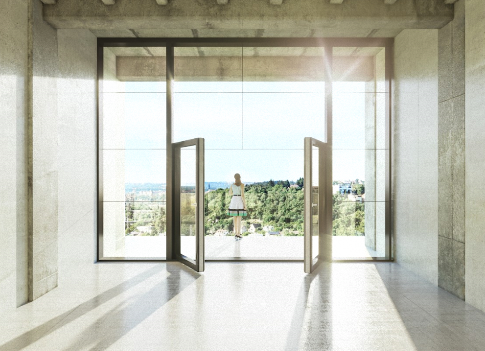 Luxusní loftový byt na Praze 4 0