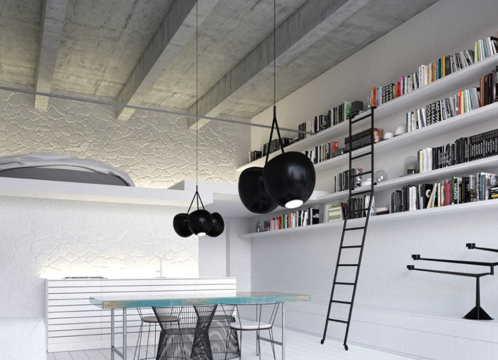 Luxusní loft 96m na Praze 4 0
