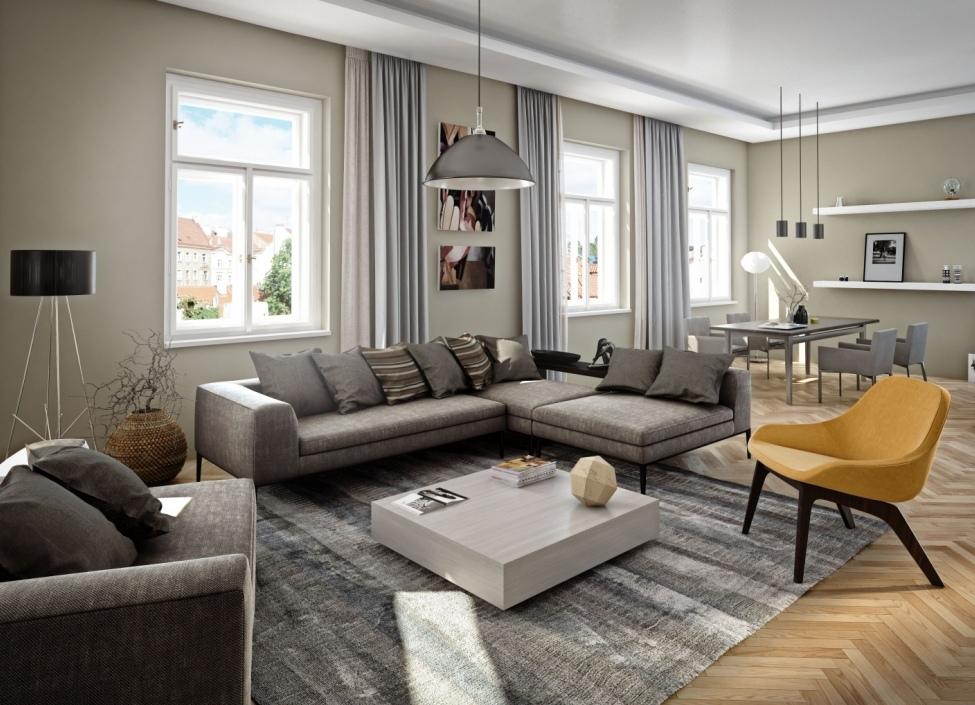 Luxusní byt v centru Prahy130m 0