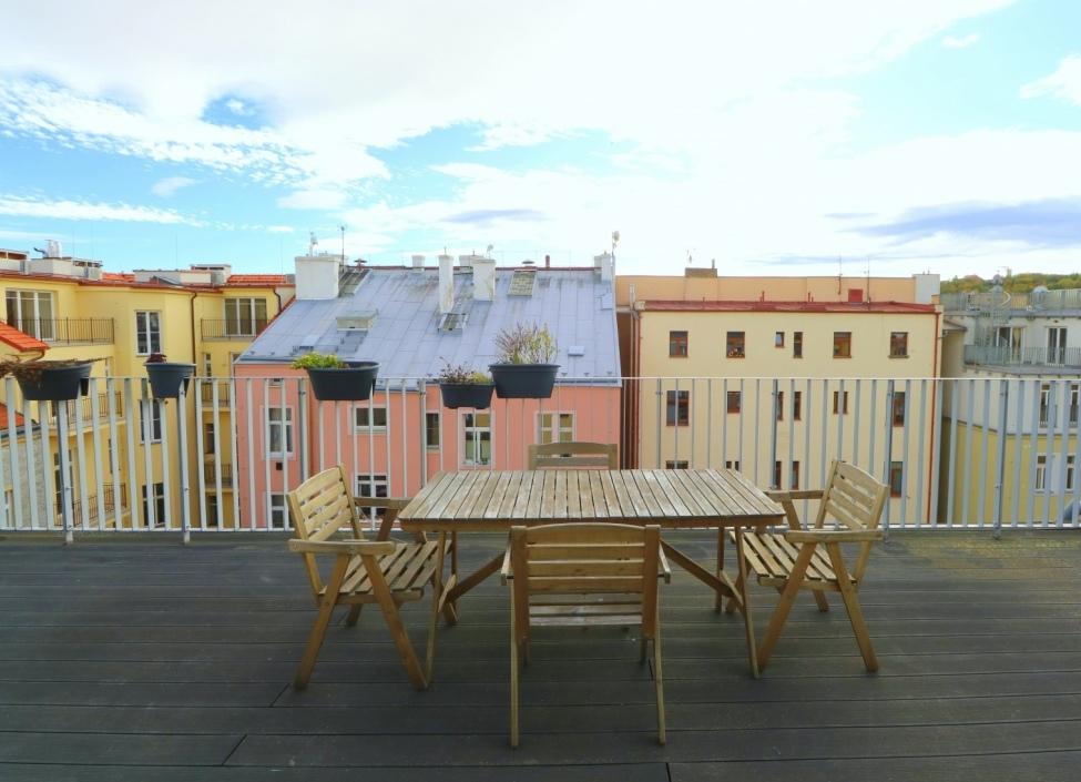 Luxusní mezonetový byt s terasou Praha 5 - Smíchov - 134m 0