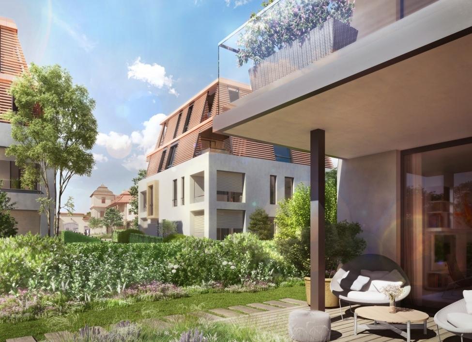 Luxusní byt s terasou Troja 183m 0