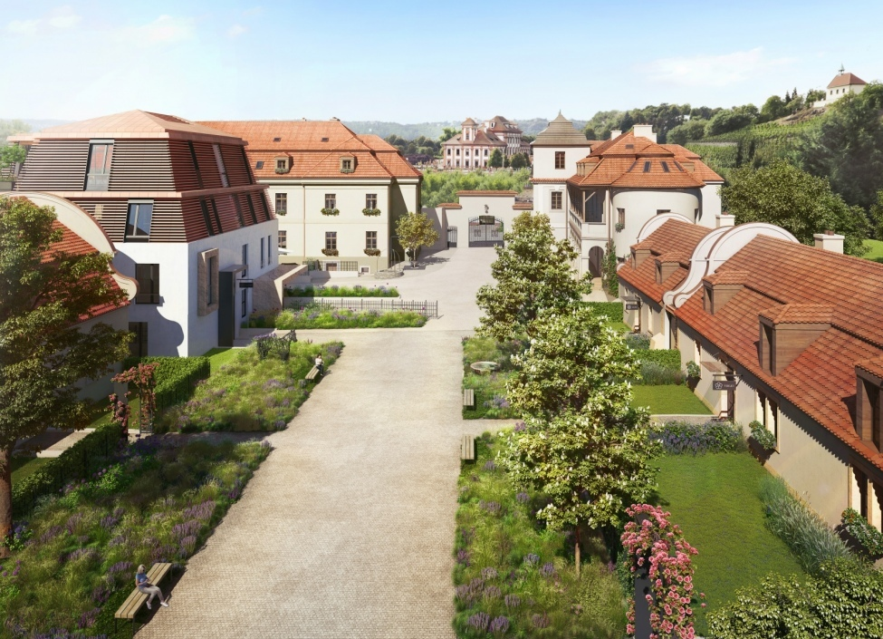 Luxusní byt s terasou na Praze 8 0