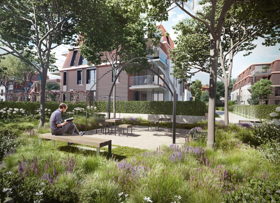 Luxusní byt se zahradou Trója 1