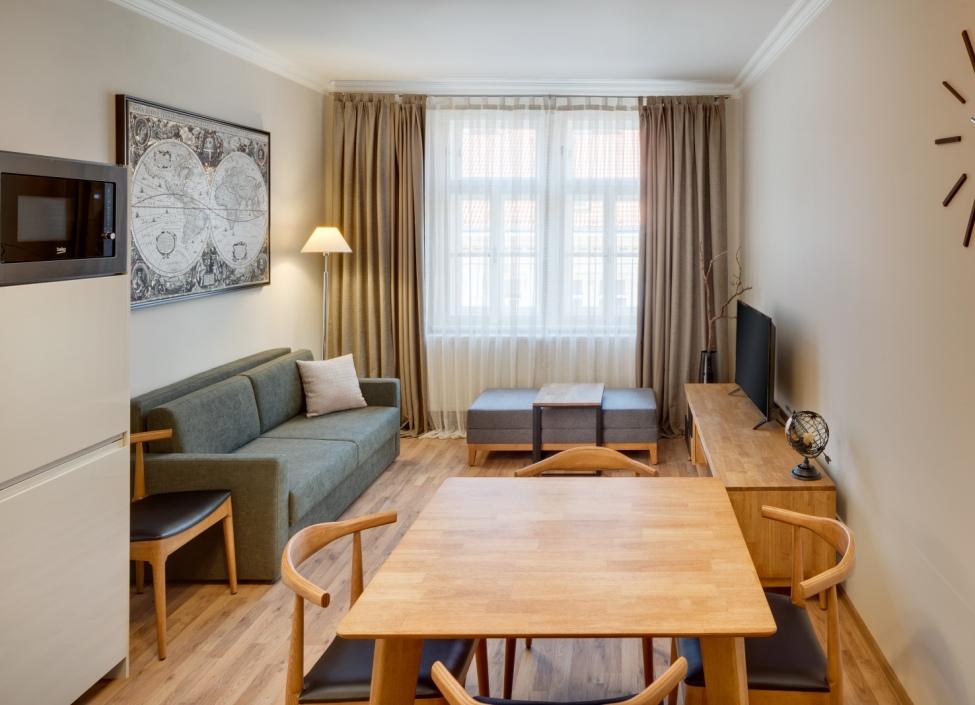 Luxusní byt k pronájmu na Praze 7 - 51m 0