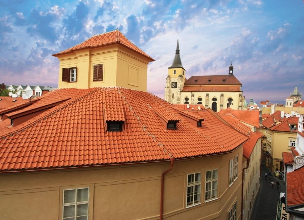 Luxusní byt s terasou v historickém centru Prahy 1 - 108m 0