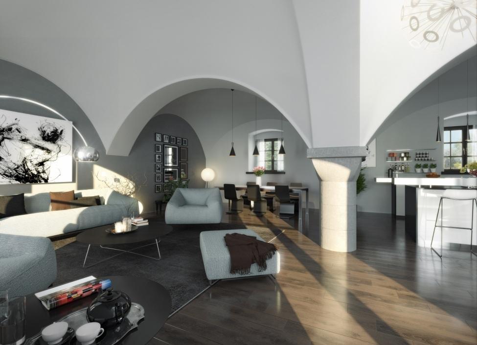 Luxusní byt Praha 6 - 84m 1