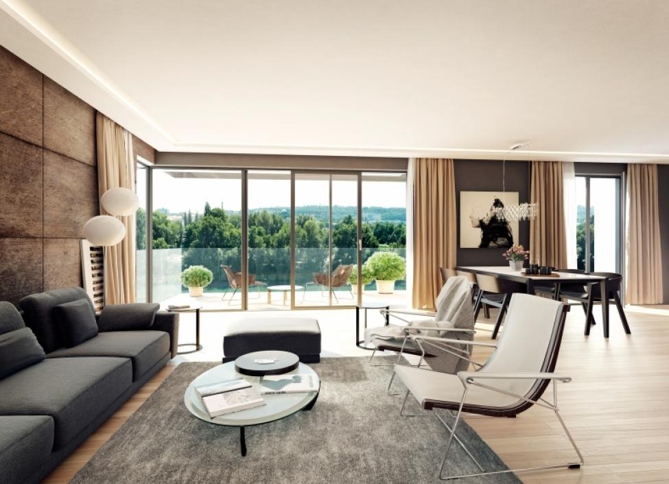 Luxusní byt Praha 7 - 43m 0