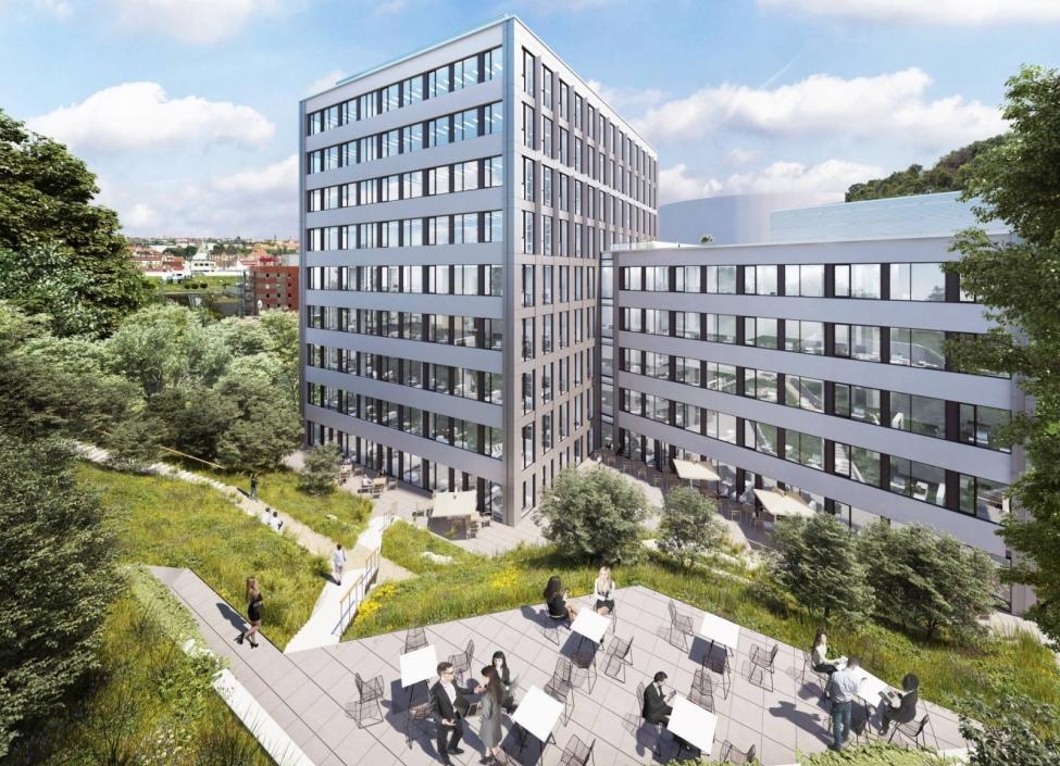 Moderní kanceláře k pronájmu, Praha 5 - 274m2 1