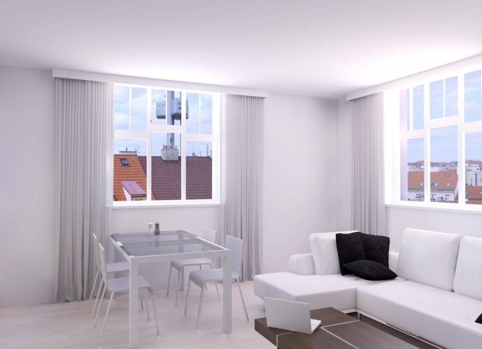 Luxusní byt Vinohrady 75m 1